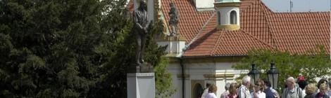 Sokl sochy presidenta Dr. Edvarda Beneše, Praha